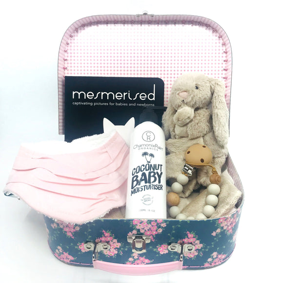 Field of Flowers Baby Keepsake Gift Set - Medium
