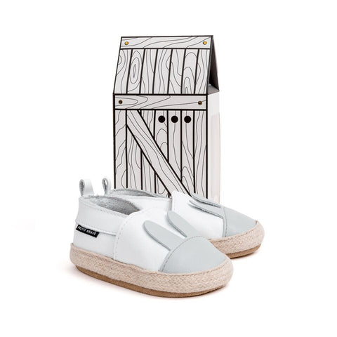 PRETTY BRAVE WHITE RABBIT ESPADRILLE