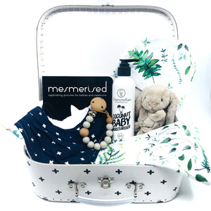 Stars and Crosses Baby Keepsake Gift Set - Large