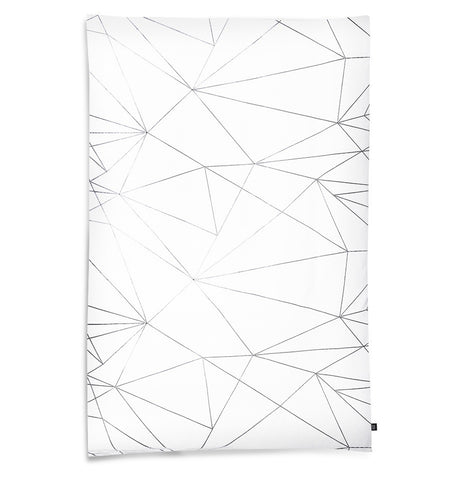 OOH NOO TODDLER DUVET COVER GEOMETRIC WEB