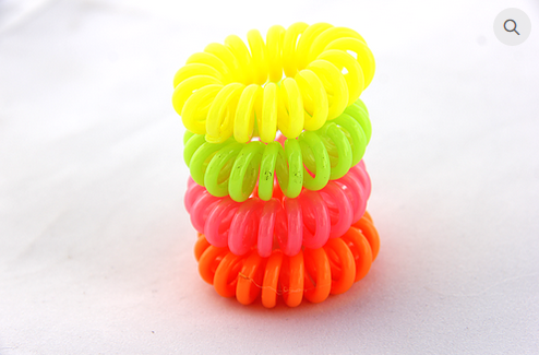 Hair Flair Hair Coils - Neon