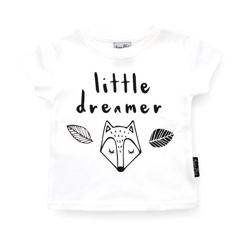 ASTER & OAK LITTLE DREAMER T-SHIRT - WHITE