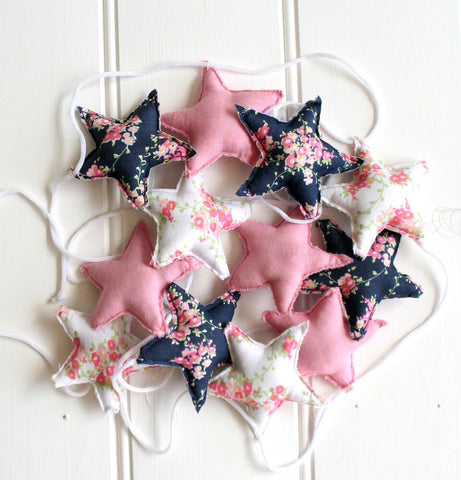 ALIMROSE STAR GARLAND - WILDFLOWER & BLOSSOM