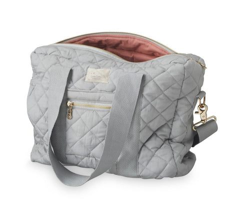 CAM CAM NURSERY NAPPY BAG - GREY