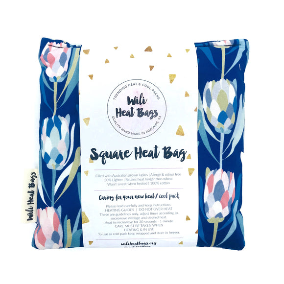 Protea Floral Square Heat Bag