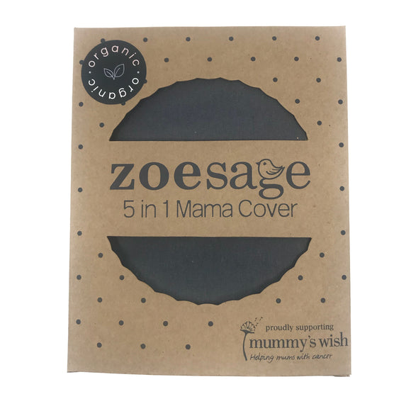 Zoe Sage 5 in 1 Mama Cover - Storm Grey