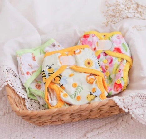 4 pack Newborn nappies