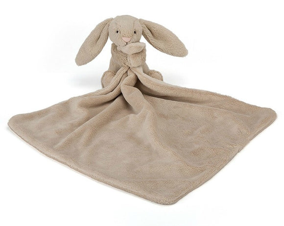 Bashful Bunny Soother Blanket - Beige