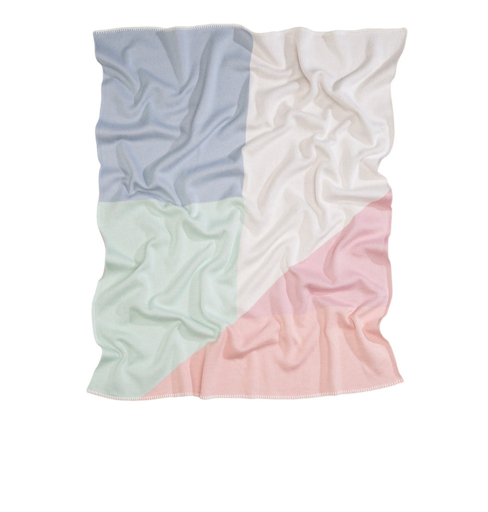 KATE & KATE PASTEL BABY BLANKET 'THE OSCAR'