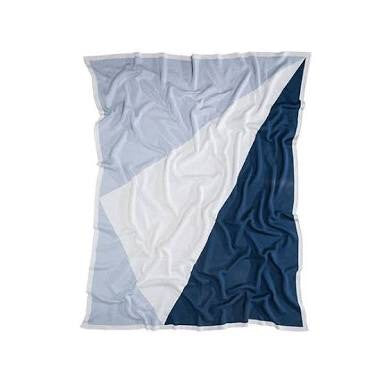 KATE & KATE BLUE BABY BLANKET 'THE LOVE LETTER'