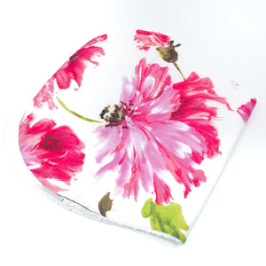 Pink Blossom Burp Cloth