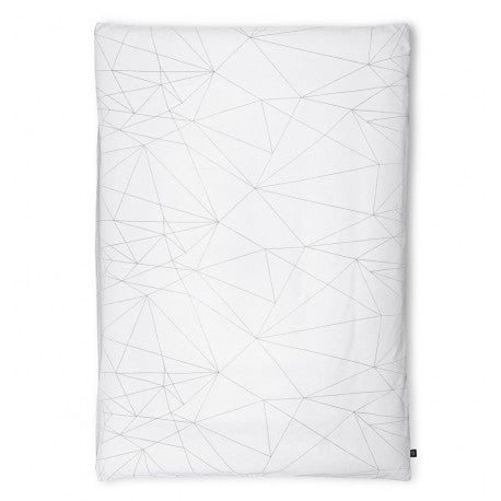 OOH NOO SINGLE DUVET COVER GEOMETRIC WEB