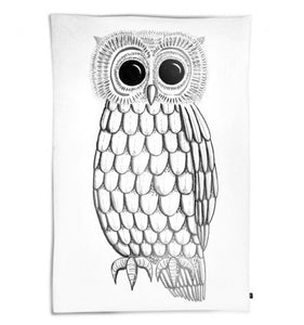 OOH NOO WICKED OWL DUVET COVER SINGLE