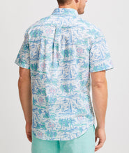 Load image into Gallery viewer, Slim Fit Ocean Terrace Murray Short-Sleeve Button-Down Shirt
