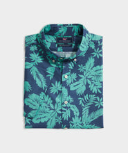 Load image into Gallery viewer, Slim Fit Tropical Leaves Murray Short-Sleeve Button-Down Shirt