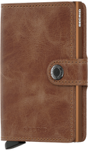 Load image into Gallery viewer, Miniwallet Vintage Cognac-Rust