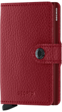 Load image into Gallery viewer, Miniwallet Veg Rosso-Bordeaux