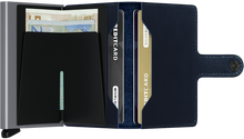 Load image into Gallery viewer, Miniwallet Rango Blue-Titanium