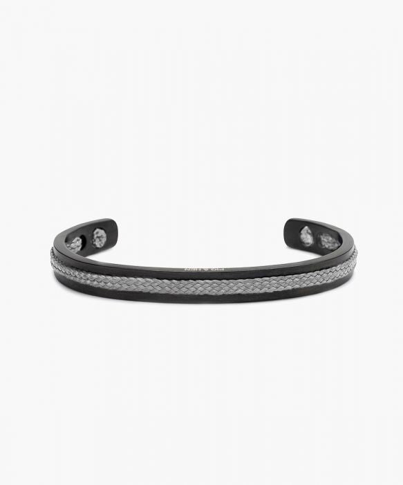 Pig & Hen Light Gray Black Bracelet