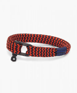 Pig & Hen Coral Black Navy Red Bracelet
