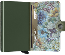 Load image into Gallery viewer, Miniwallet Crisple Pistachio Floral