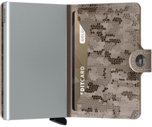 Load image into Gallery viewer, Miniwallet Crisple Taupe Camo