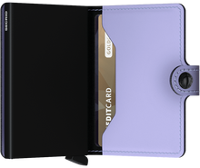 Load image into Gallery viewer, Miniwallet Matte Lilac-Black
