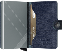 Load image into Gallery viewer, Miniwallet Stitch Linea Navy
