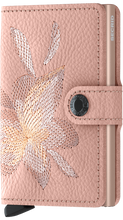 Load image into Gallery viewer, Miniwallet Stitch Magnolia Rose