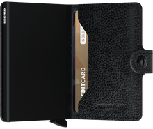 Load image into Gallery viewer, Miniwallet Veg Black-Black