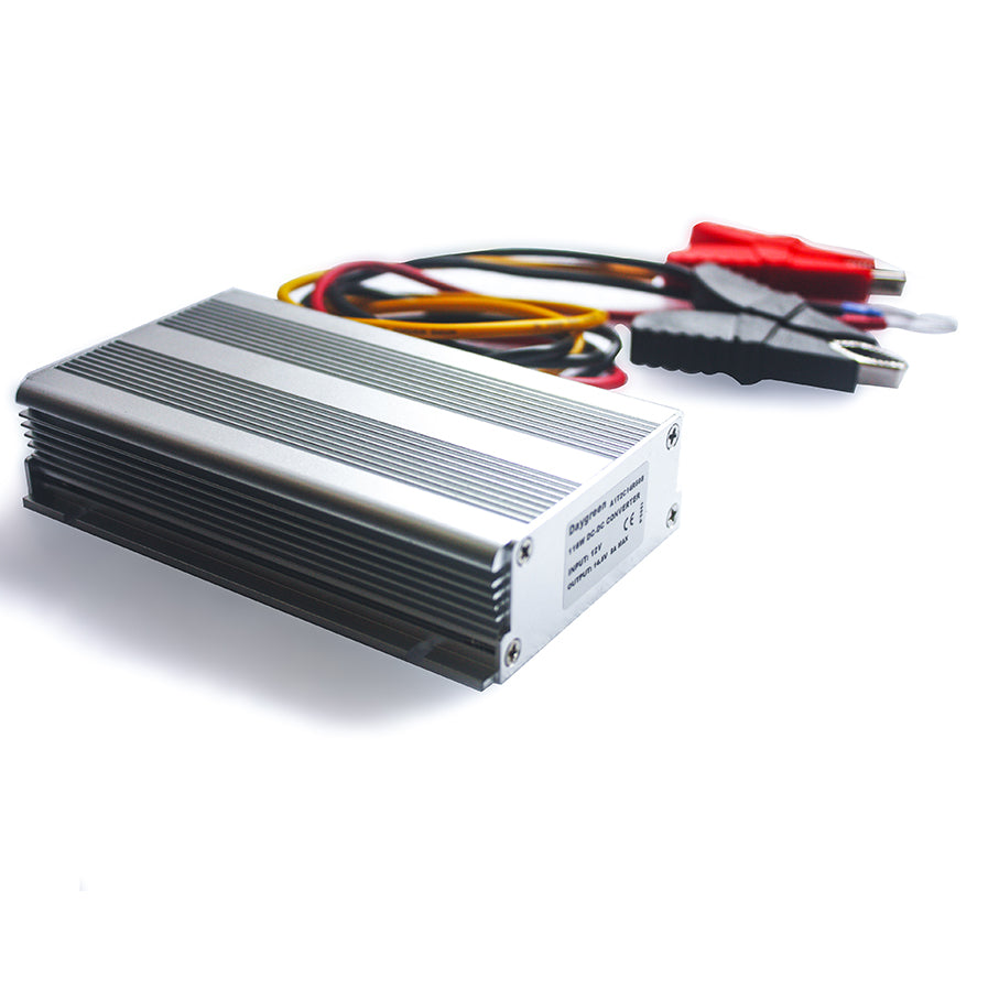 12V/24V to 14.5V 3A 43.5W DC DC Step Up Converter Lithium / Lead-acid Charger