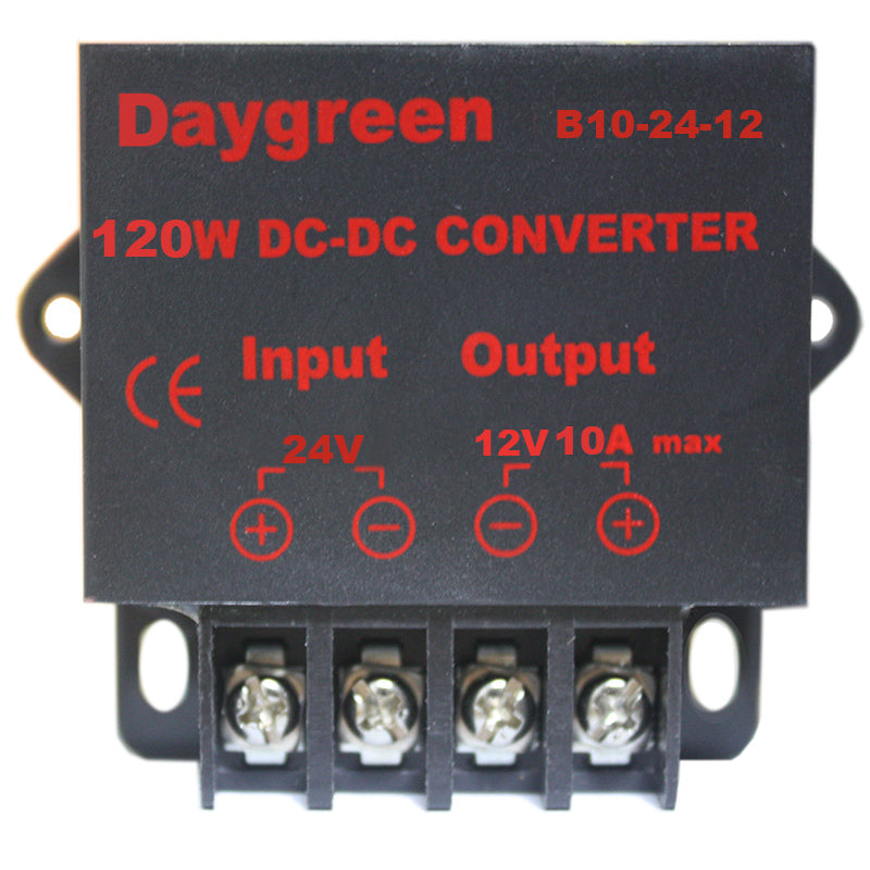 24V to 12V 10A 120W DC-DC Step Down Converter Voltage Regulator