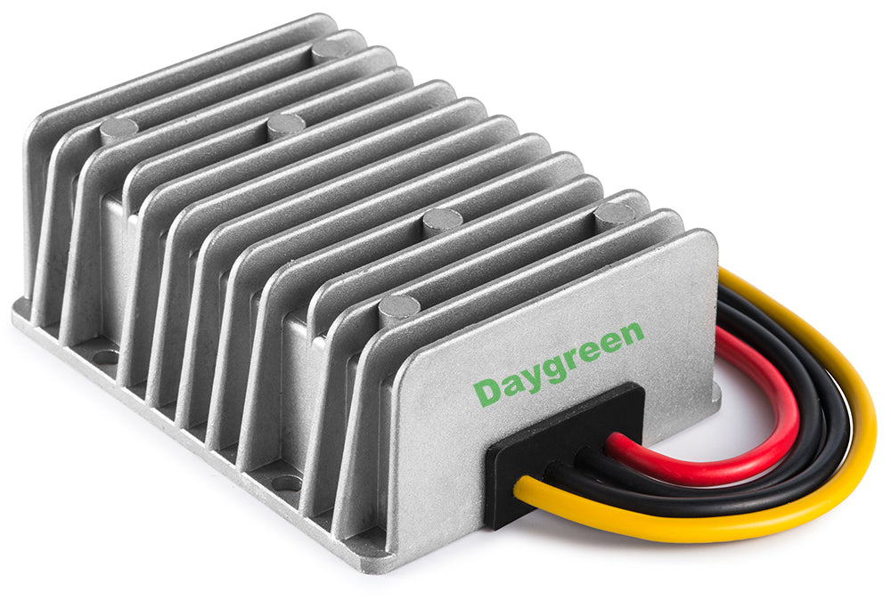 Accept DC 9-20V Inputs DC 12v to 24v Converter 15A 360W Heavy Duty Step Up Waterproof Transformer DC Power Adapter Converter for Car Truck Vehicle Boat Motor Solar System Car Power Inverter
