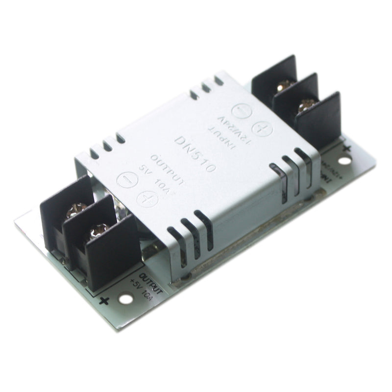 12V/24V to 5V 10A 50W DC-DC Step Down Converter Voltage Regulator Smaller Type