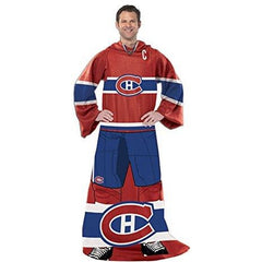 Montreal Canadiens Captain Comfy Throw - The Blanket With Sleeves