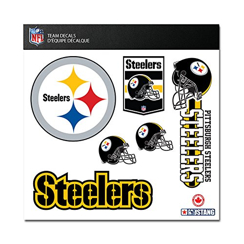 "Pittsburgh Steelers Window Decals 12""x12"" Sheet"