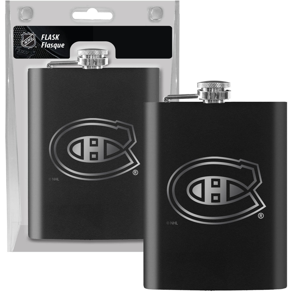 Montreal Canadiens Laser Etched 8oz Flask