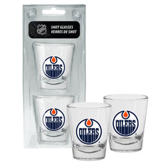 Edmonton Oilers 1.5oz Round Shot Glass Set