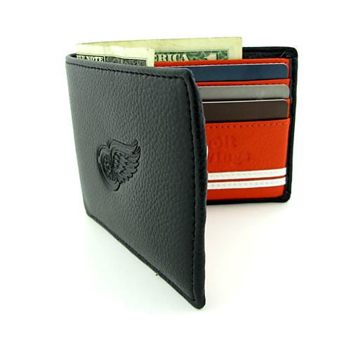 Detroit Red Wings Genuine Leather Wallet