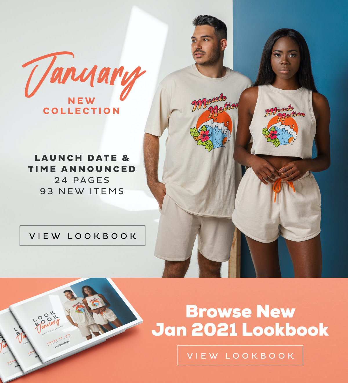 Muscle Nation January 2021 Look Book | MVMNT LMTD