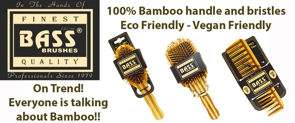 Bass Brushes | MVMNT LMTD | Bamboo Comb Medium Wide | Australia