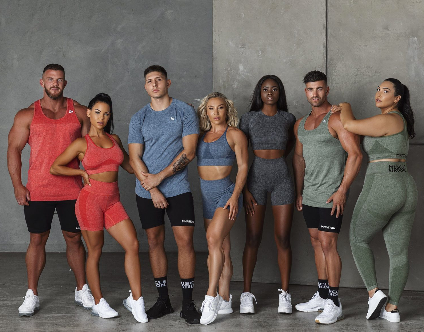 Muscle Nation Shape Up Seamless Collection | MVMNT LMTD