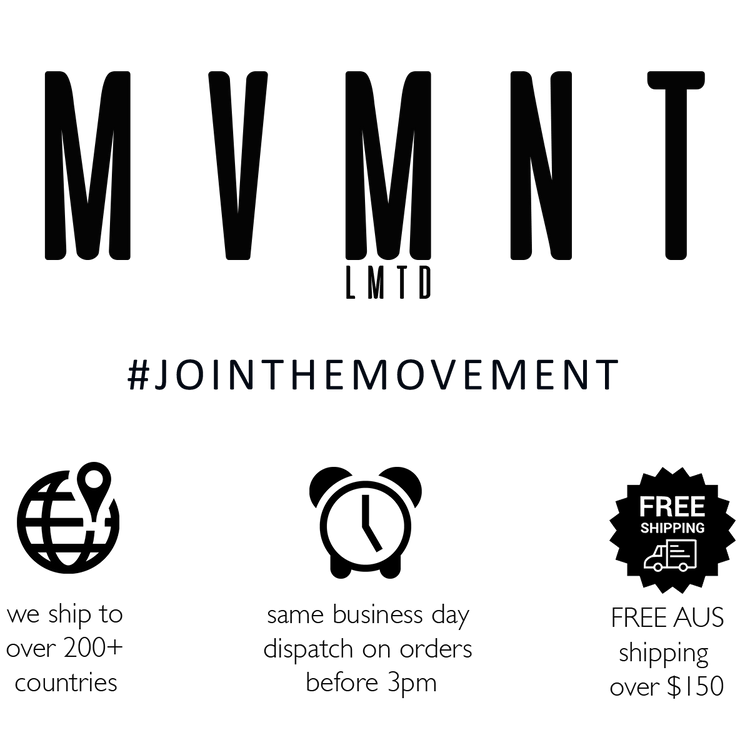 MVMNT LMTD | Sportwear + Supplements | Australia