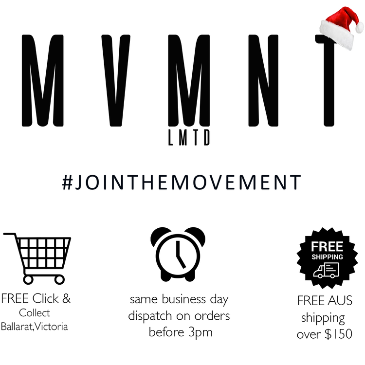 MVMNT LMTD | Online Sportswear + Supplements | Australia