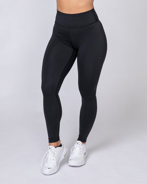 Muscle Nation | Motion Full Length Leggings - Black | MVMNT LMTD