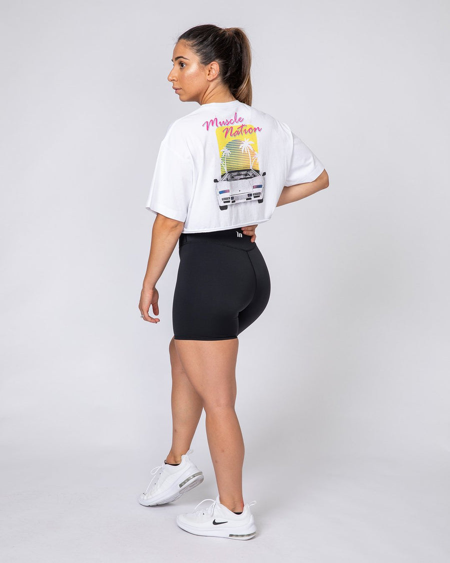 Muscle Nation | Womens Oversized Vintage Tee - Lambo | MVMNT LMTD