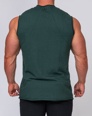 Muscle Nation | Mens Loopback Tank - Emerald Green | MVMNT LMTD