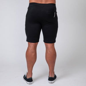 Muscle Nation | MNation Tapered Fit Shorts - Black | MVMNT LMTD