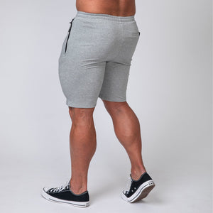 Muscle Nation | MNation Tapered Fit Shorts - Grey | MVMNT LMTD