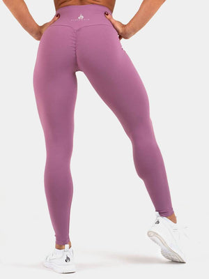 Ryderwear | Staples Scrunch Bum Leggings - Purple | MVMNT LMTD